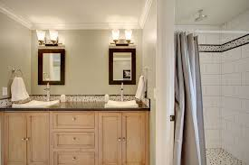 modern full bathroom with powder room u0026 simple marble counters in