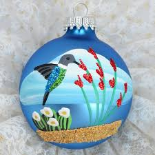 hummingbird handpainted ornament southwest ornaments by brenda