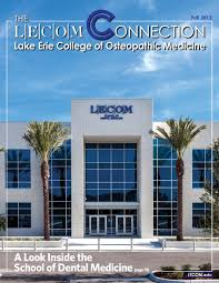 lecom connection fall 2012 by lake erie college of osteopathic