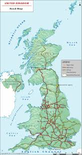 Map Of Britian Motorway Map Of Britain