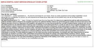 air hostess cover letter