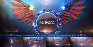3d wings logo reveal by stevepfx videohive