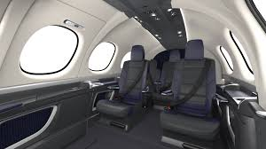 Airplane Interior Cirrus Debuts Final Interior For Vision Jet Business Aviation