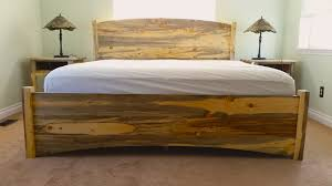 solid wood bed frame queen susan decoration