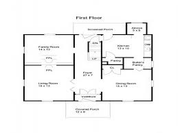 Mansion Layouts Simple House Floor Plans For Young Workers