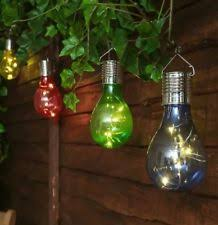 solar powered outdoor light bulbs solar light bulbs ebay