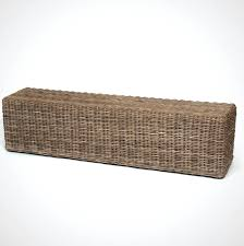 country style hall storage benchoxford bench with wicker baskets