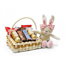 chocolate basket send mix chocolate basket with soft gift online to pakistan