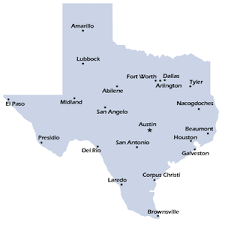 tecas map city map county cities and state pictures