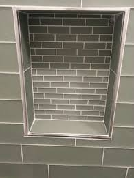 Emser Tile With Schluter Edge To Finish It Off Nicely How To End - Backsplash trim strips