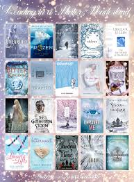 20 winter themed ya books books book lists and winter