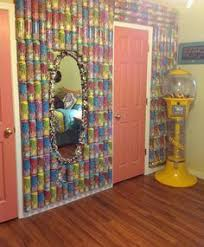peace room ideas glue peace tea cans together and hang it on the wall art cool