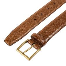genuine leather belt handmade belts crockett u0026 jones