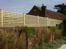 Trellis On Garden Trellis To Offer Privacy For Walls Or A Fence London