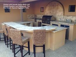 Interior Stucco Walls Kitchen With Smooth Stucco Walls And Granite Counters And