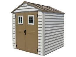 amazon com duramax 7x7 storemax vinyl shed 2017 model garden
