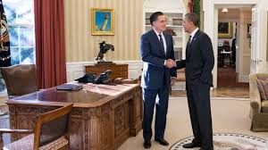 obama and romney have lunch agree to u0027stay in touch u0027 ncpr news