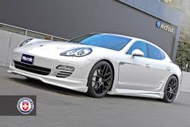 porsche black panamera porsche panamera with hre p40l in satin black hre performance wheels