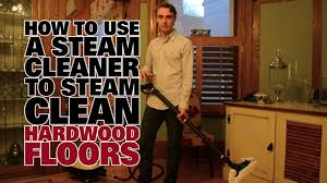 Can I Use A Steam Mop On Laminate Flooring How To Steam Clean Hard Wood Floors Dupray Steam Cleaners Youtube