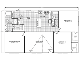 Floor Plans For Mobile Homes Double Wide The Velocity Model 32523v Manufactured Home Or Mobile Home From