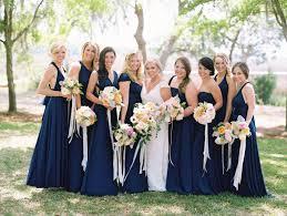 marine bridesmaid dresses riveroaks wedding by landon jacob navy bridesmaids weddings and