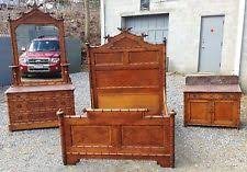 Eastlake Bedroom Set Antique Beds U0026 Bedroom Sets 1800 1899 Ebay