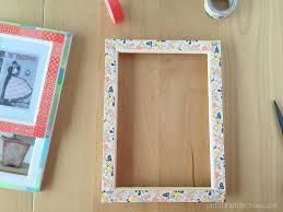 remarkable washi tape picture frame 47 for your best design ideas