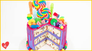 how to make a candy cake ft jenn johns of cookies cupcakes and