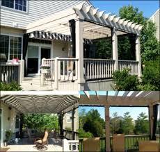 Pergola Mosquito Curtains Pergola With Shade Fx Canopy And Mosquito Curtains Mosquito