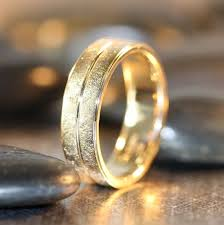 most comfortable wedding band 20 best gold wedding rings for men images on rings for