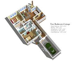 2 bedroom cottage floor plans the quadrangle the quadrangle floor plans