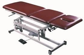 armedica hi lo treatment tables armedica 3 section hi lo table w casters non elevating am 350