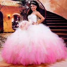 quinceanera dresses white hot white and pink quinceanera dresses 2016 gowns organza