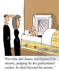 casket cost funeral cost and comics pictures from cartoonstock