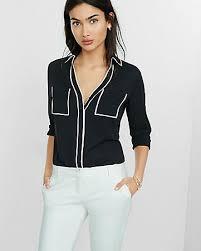 Black Blouses For Work Portofino Shirts Shop Women U0027s Portofino Shirts