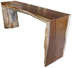 Wood Sofa Table Large Perota Wood Sofa Table