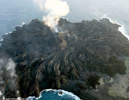 study finds nishinoshima formed from two volcanic eruptions