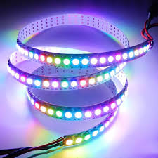 ws2812b 5050 rgb led strip lights 1m 60 144 5m 150 300 individual