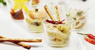 cuisine az verrines 15 verrines salées et express verrines de yaourt aux crevettes