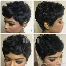 can hair be slightly curly or wavy hotkis 100 human hair slight wavy short cut wigs short curly bob