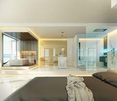 Open Bedroom Bathroom by Enchanting Bathroom Designs Showcasing Great Contemporary Open