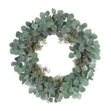 eucalyptus wreath faux eucalyptus wreath wayfair