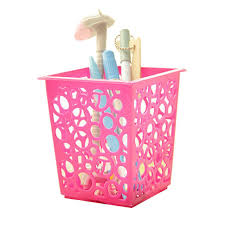 Dstockage Papeterie Zéro Maquillage Brosse Vase Brosse Pot Porte Stylo De Stockage De