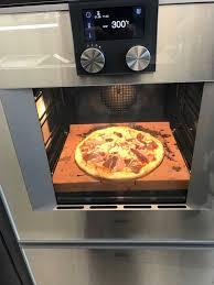 cuisine four vapeur une cuisson parfaite avec la à et pizza gaggenau