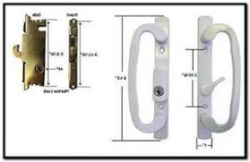 sliding glass door lock repair replacing lock on sliding glass door visitmydoor net