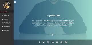 Front End Developer Resume Sample Intima Clean U0026 Responsive Resume Template By Bdinfosys Themeforest