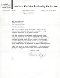 lot detail martin luther king jr amazing signed letter with