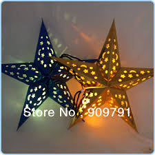 battery operated star lights battery operated hollow star led flash light wedding party christmas