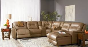 Brown Leather Sectional Sofas With Recliners Recliner Freedom To