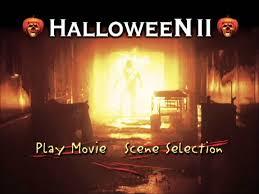 halloween ii uk dvd menu youtube